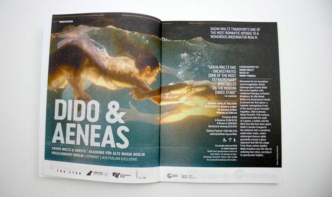 Sydney Festival 2014 Season concept and design by Alphabet Studio alphabetstudio.com