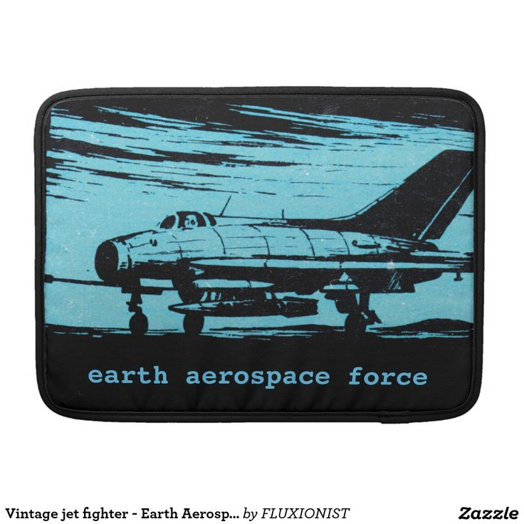 Earth Aerospace Force Sleeves For MacBooks - $71.00 Made by Rickshaw Bagworks / Design: Fluxionist Serious force. Personalize this and - Save the world!