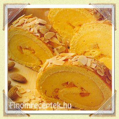 Narancskrémes tekercs recept | Finom receptek - Az online receptkönyv