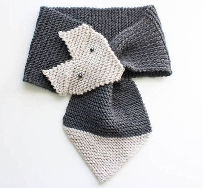 Foxy Garter Stitch Scarf