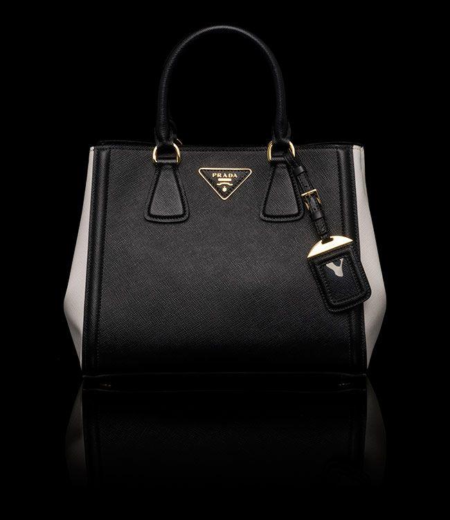 Prada Bags Black And White
