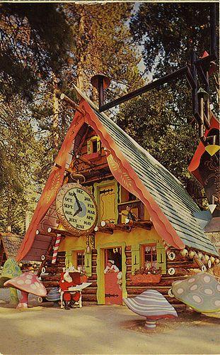 Santas Home Santas Village 1961
