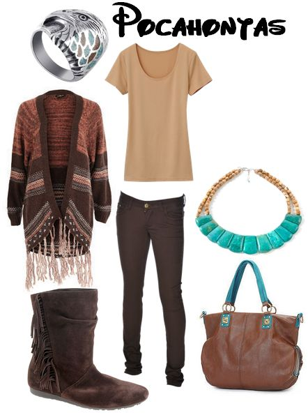 Pocahontas for Winter. | Inspired Outfits | Pinterest