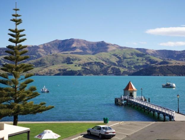 AKAROA.    New Zealand's South Island -- Akaroa.