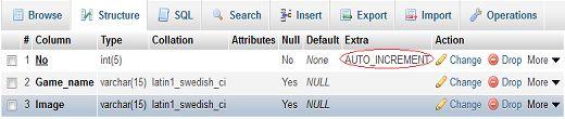 php, mysql,  js, jquery, ajax, .htaccess,robots.txt,phponwebsites: Remove auto_increment from column in mysql