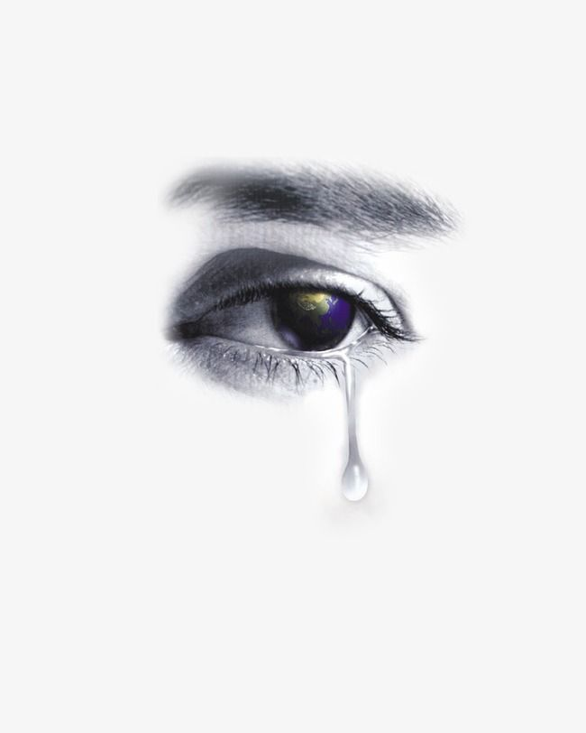Eyes Tears Eye Tear Eyelash Png Transparent Clipart Image And