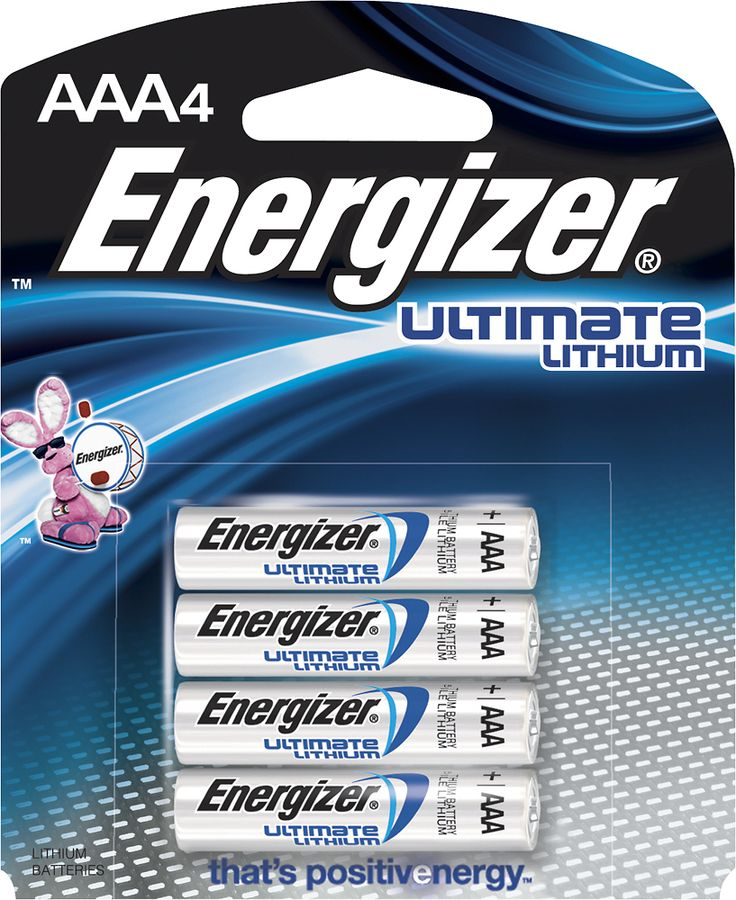 Energizer Ultimate Lithium Aaa Batteries 4 Pack L92bp 4 Best Buy In 2021 Energizer Battery Energizer Batteries