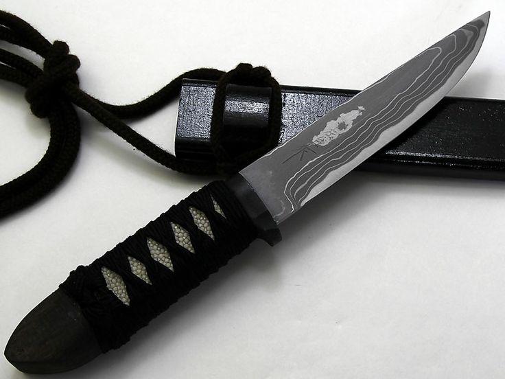 佐治武士作和式ナイフ 【忍者 ninja】