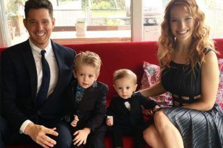 Michael Buble's Wife Speaks Out For First Time Since Son Noah's Cancer Recovery - http://viralfeels.com/michael-bubles-wife-speaks-out-for-first-time-since-son-noahs-cancer-recovery/