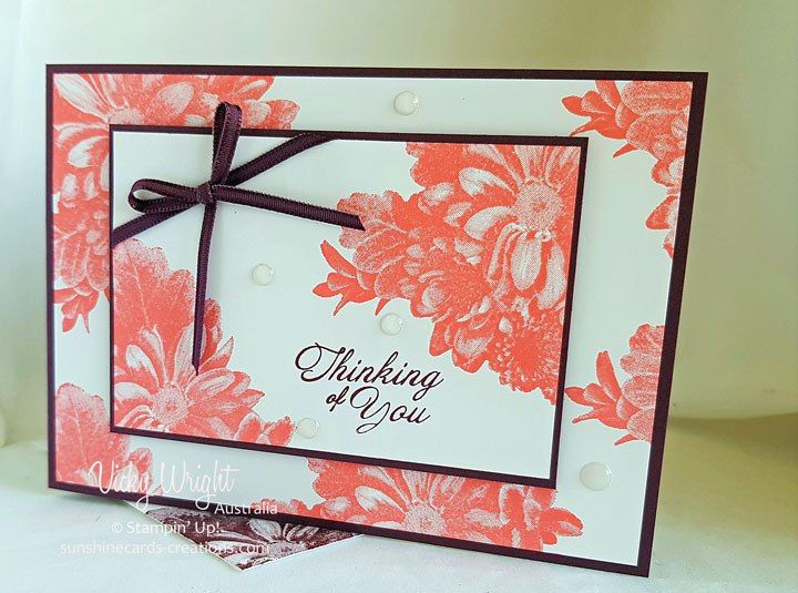 2018 SAB, Heartfelt Blooms, 2017-2019 In Colours, Free Tutorial, Vicky Wright, Stampin' Up!