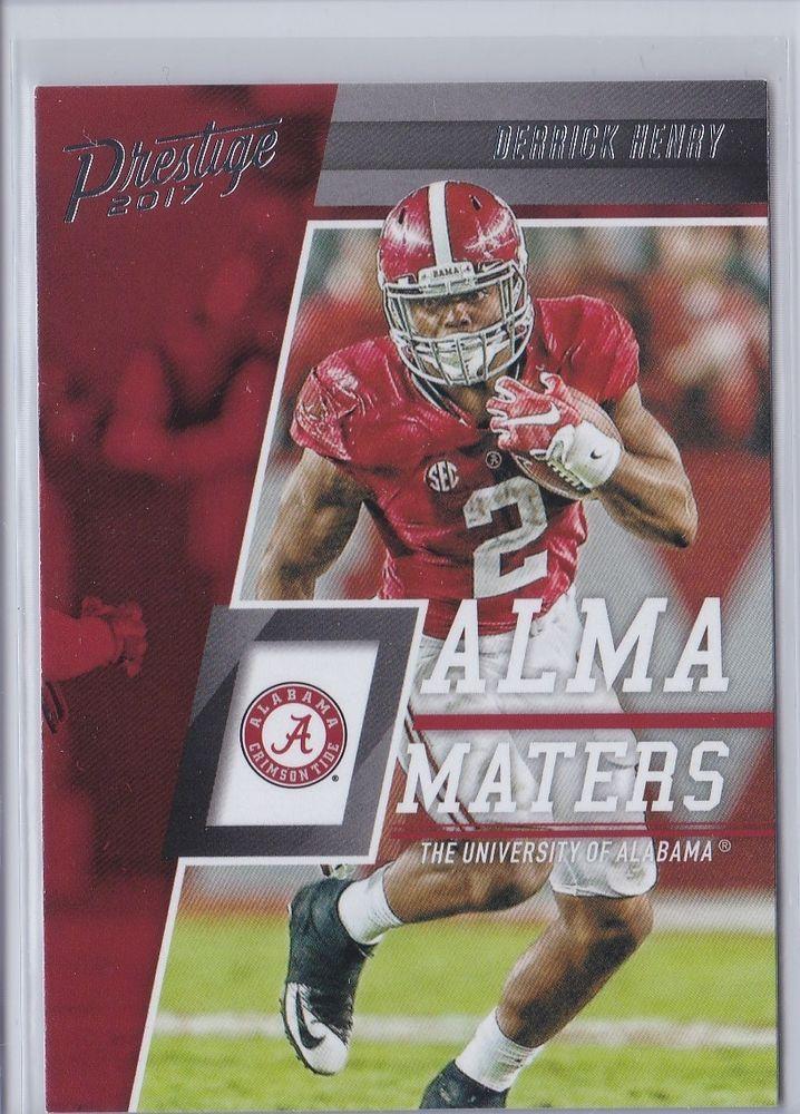5b7de998f 2017 Prestige Alma Maters Alabama Derrick Henry Tennessee Titans Card No.  10  TennesseeTitans