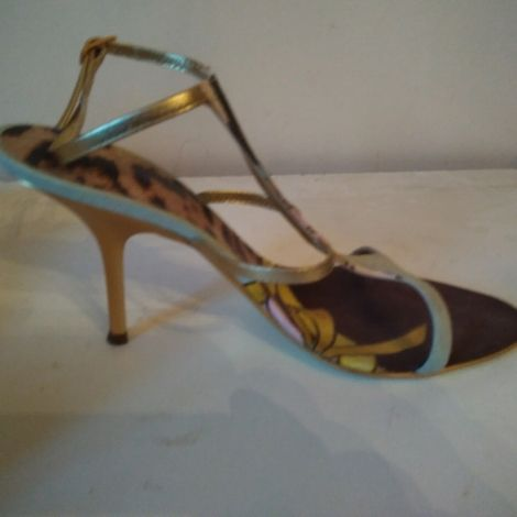 Sandales à talons ROBERTO CAVALLI 37 imprimés animaliers  - 6071506