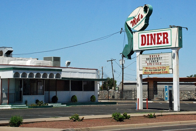 """Mel's Diner :: Phoenix, AZ, made famous by the TV series, """"Alice"""""""
