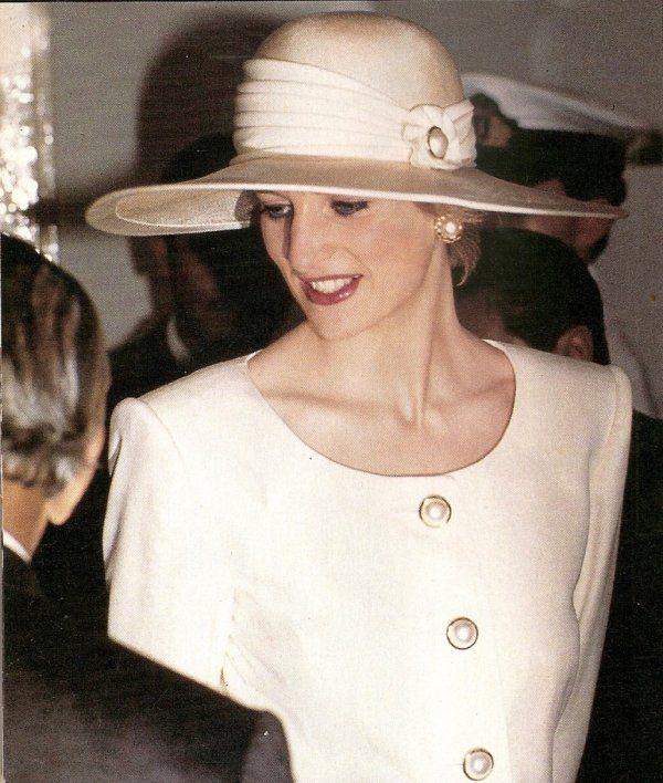 Princess Diana in Indonesia, November 18, 1989