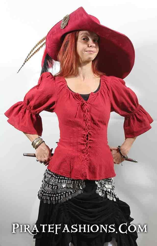 97e0040b Nassau Blouse in 2019   Pirate stuff   Pirate fashion, Blouse, Nassau