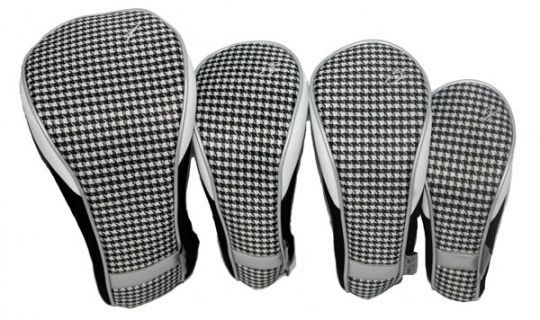 Timeless Noir Taboo Fashions Ladies Golf Club Headcovers (4-Pack Set)! Find the best golf accessories at #lorisgolfshoppe #golfclubs