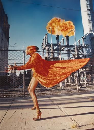 "David LaChapelle I ""Hot Flash, New York 1998,"" 1998 I The Center for Photography at Woodstock Benefit Auction I Sep 19 — Oct 3"