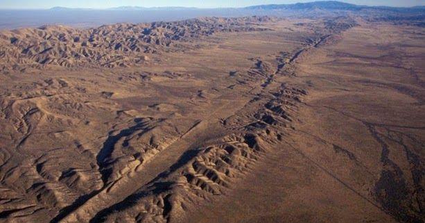 San Andreas fracture, California, USA