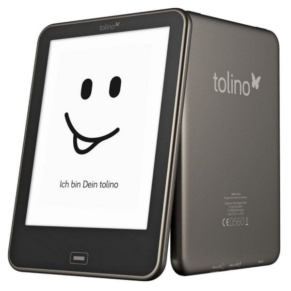 Tolino Vision Carta eBook Reader 6 Inch Touch E-ink Screen 4GB WIFI With Front light Sale