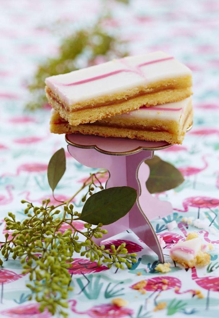 "Karpaloiset aleksanterinleivokset // ""Alexander"" Pastries with Marzipan & Cranberry jam Food & Style Elina Jyväs, Baking Instinct Photo Laura Riihelä www.maku.fi"