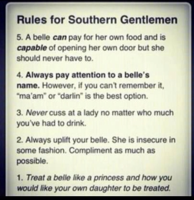how to find a southern gentleman