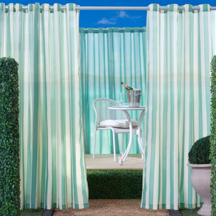 18 Best Outdoor Curtains Images On Pinterest