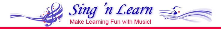 sing n learn fun with music  Music for every subject