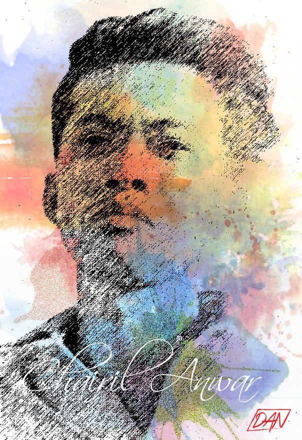 Hari ini adalah Hari Puisi Nasional 2016, sama seperti tanggal 28 April 1949 lalu. Chairil Anwar pulang duluan & tinggalkan nama besarnya, penyair ternama.