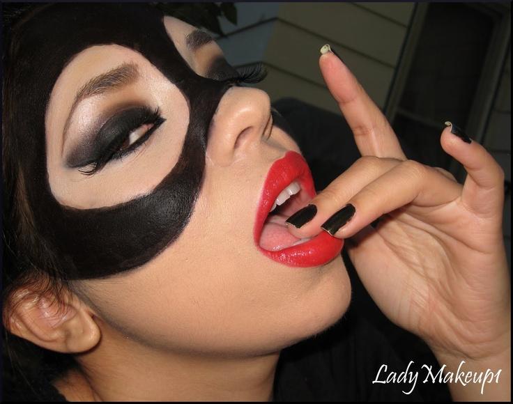 Image detail for -Dreams, colors and glitter: Catwoman Mask - Mascara de gatubela