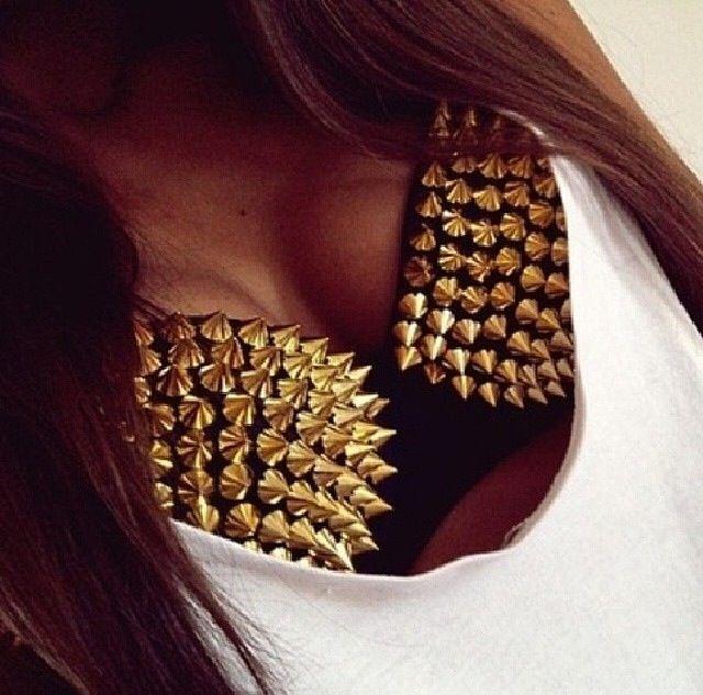 Studded bra