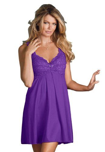 Here is the Site to make this purchase!! Amoureuse Women`s Plus Size Tricot Lace Bodice Babydoll for only $40.25 You save: $16.31 (29%)