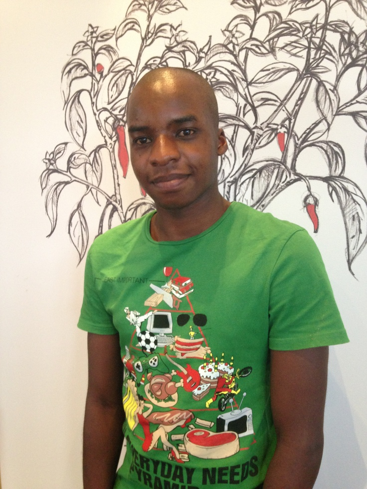 Terry Mlangeni  Copywriter  Terry had his first taste of the advertising  industry in 2009 when he completed  his Grade 11 work experience project  at the Firehouse Group advertising  agency.Terry  took up a BBA degree in Marketing  Management at I.M.M. Graduate School  for Marketing, which he is currently  completing. From January 2013 he  has been expressing his creativity and  outgoing nature at Chillibush. He has  been working with major clients like the  IDC, iWYZE and Deloitte.