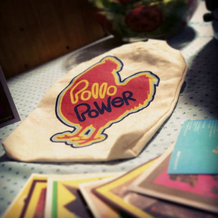 RET   Little Bag Organic Cotton - Recetario Pollo Power BBVA - Cometa - Lima Perú