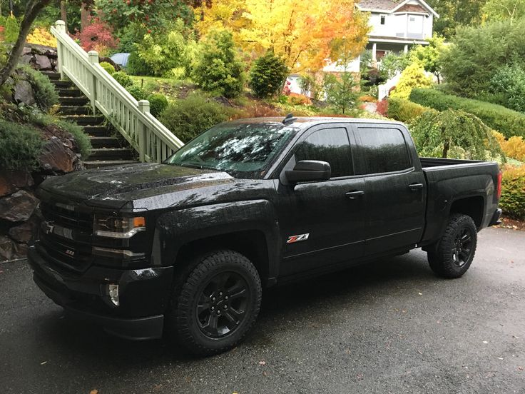 My 2017 Chevy Silverado 1500 LTZ Z71 Midnight Edition