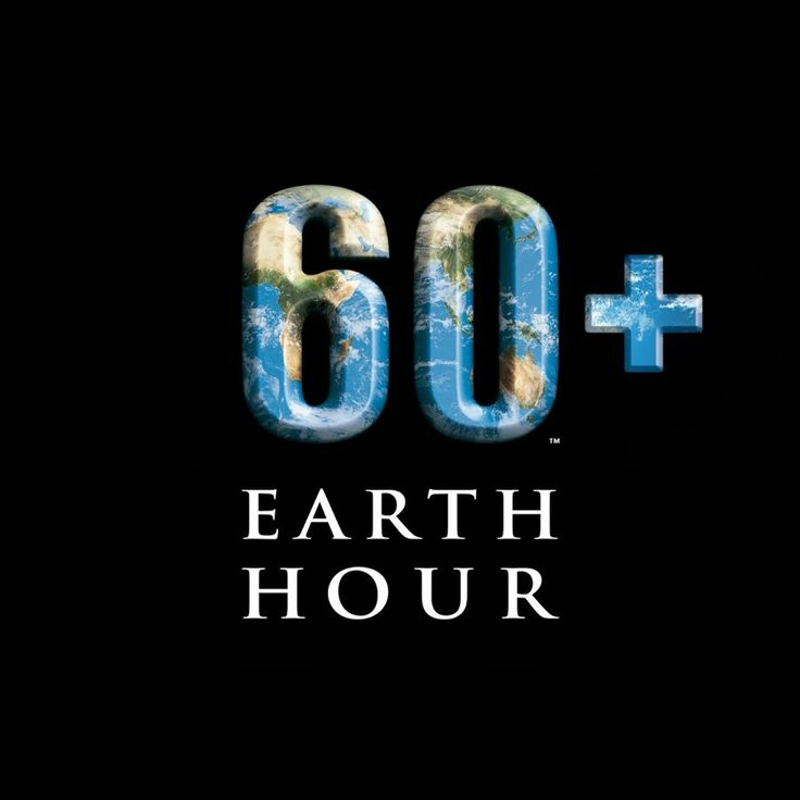 Let's participate earth hour