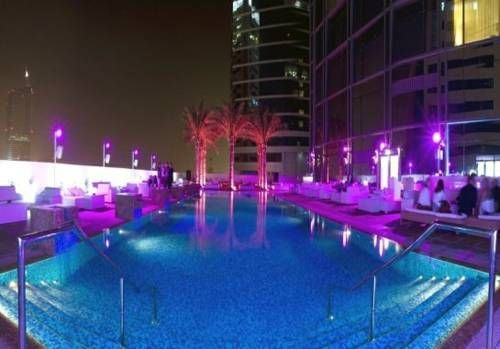 ...trendy accommodation in a convenient location, just 2 km from Dubai Marina...**** Media One Hotel