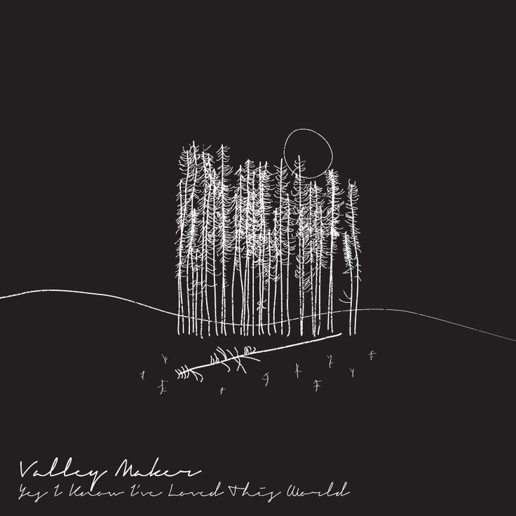 New album art for the upcoming valley maker album yes i know ive loved this world