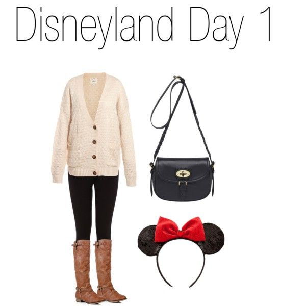 Disneyland Winter Outfit Ideas by musicluva18 on Polyvore featuring Oasis, Mulberry and Disney