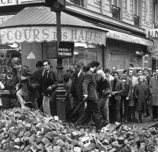mai 68, Paris, france