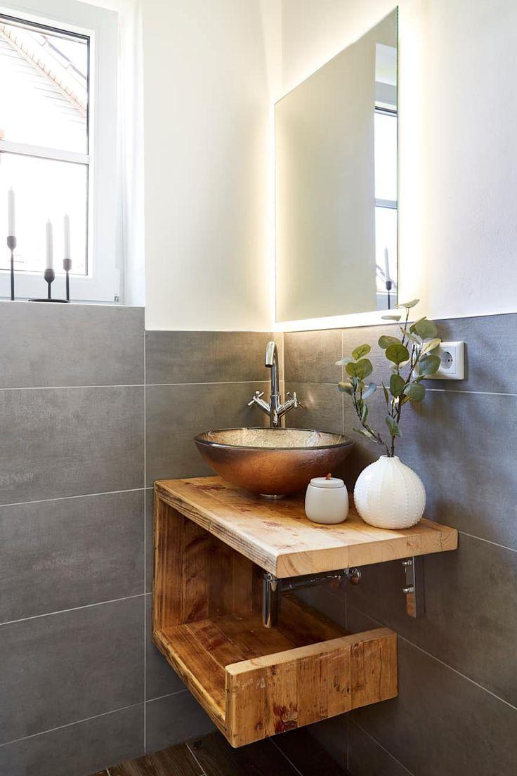 Badezimmer Ideen Design Und Bilder Homify Badezimmer Gastebad Landliche Badezimmer
