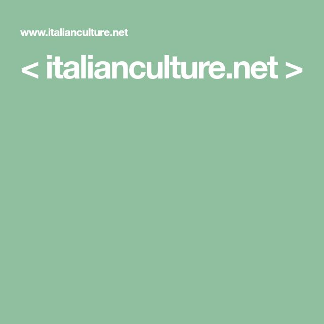 < italianculture.net >