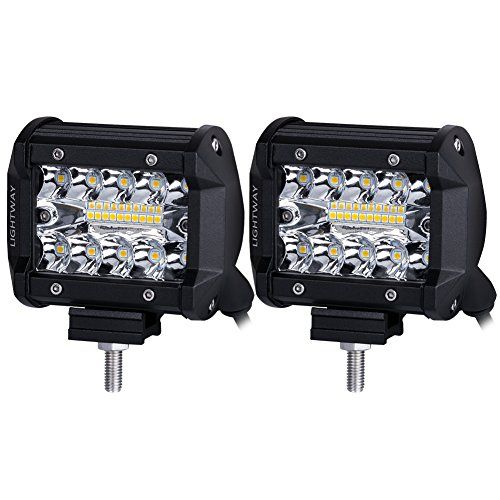 LED Pods, Liteway 2pcs 140W Triple Row LED Light Bar 4 inch Spot Flood Combo Beam CREE LED Driving Lights Off Road Lighting LED Work Lights for Truck Car ATV Boat SUV, 2 Years Warranty. For product info go to:  https://www.caraccessoriesonlinemarket.com/led-pods-liteway-2pcs-140w-triple-row-led-light-bar-4-inch-spot-flood-combo-beam-cree-led-driving-lights-off-road-lighting-led-work-lights-for-truck-car-atv-boat-suv-2-years-warranty/