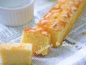 「アーモンドケーキ」クルリン   お菓子・パンのレシピや作り方【corecle*コレクル】