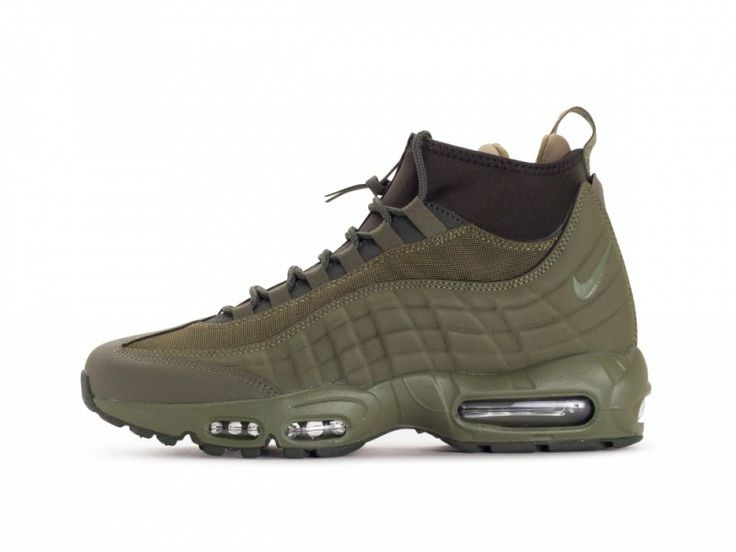 Nike Air Max 95 Sneakerboot in Medium Olive - EUKicks.com Sneaker Magazine