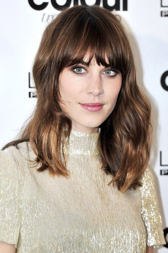 Alexa Chung Hair 2014 | Rex Features