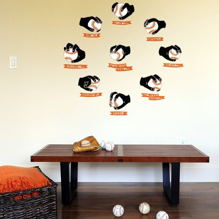 Articles About Bliks Baseball Wall Decals Dwell Is A Platform For Anyone To Write Design And Architecture