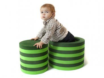Provides a quiet space, vestibular input, and heavy work. Children can crawl through it to enhance spatial awareness and with movement, it provides strong vestibular input. #toys #motos skills