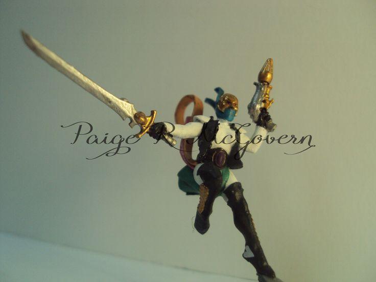 Eldar harlequin - female