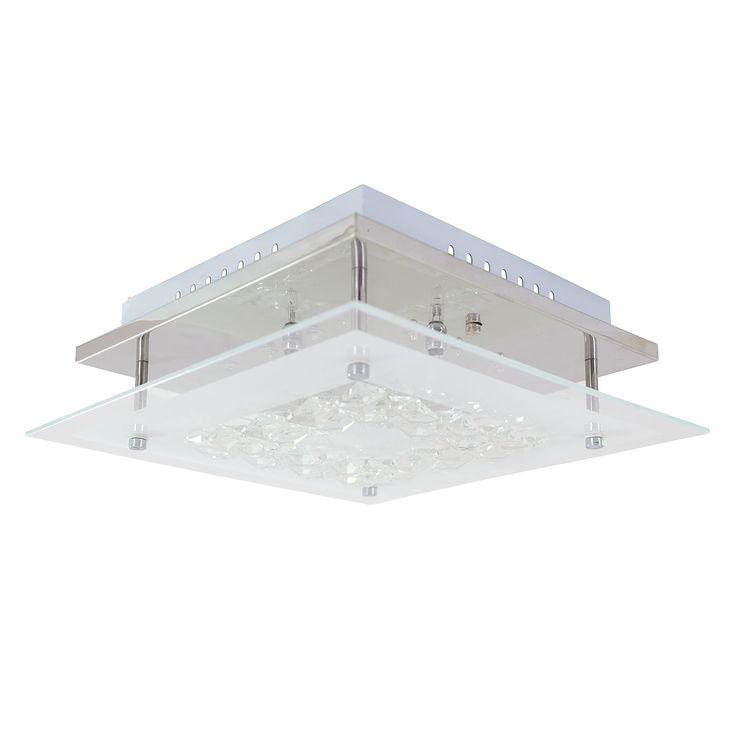 EEK C, Wandleuchte - Glas - Silber - 8-flammig, Näve