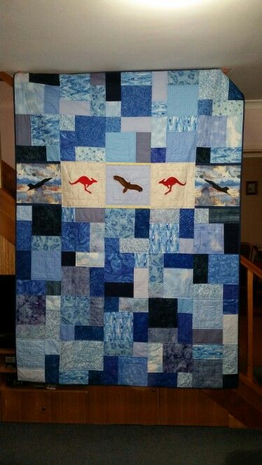 Quilt for Amy who's joining the Air Force